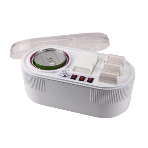 Combi Wax Heater for 3 roll-on Cartridges & 800 ml wax Tin