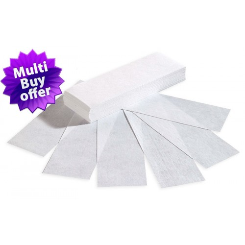 Waxing Paper Strips (100) 85g.