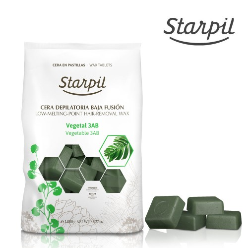 Stripless Green Hard Wax Starpil (Original Blend), 1kg