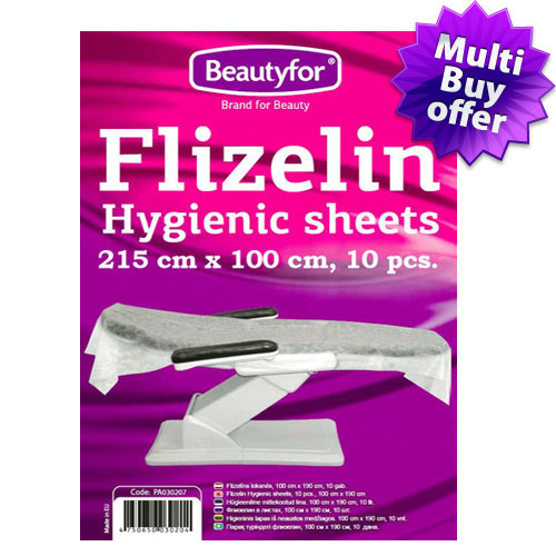 Disposable Flizelin couch cover (215x100) sheets (10)